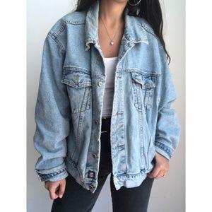 Vintage GAP denim oversized jacket XL